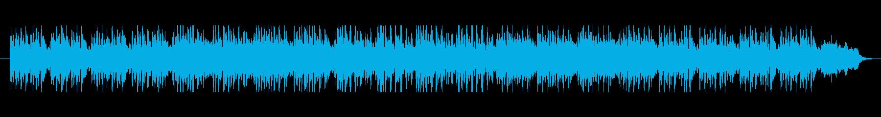 中國の雰囲気を感じる明るく落ち着いた楽曲の再生済みの波形