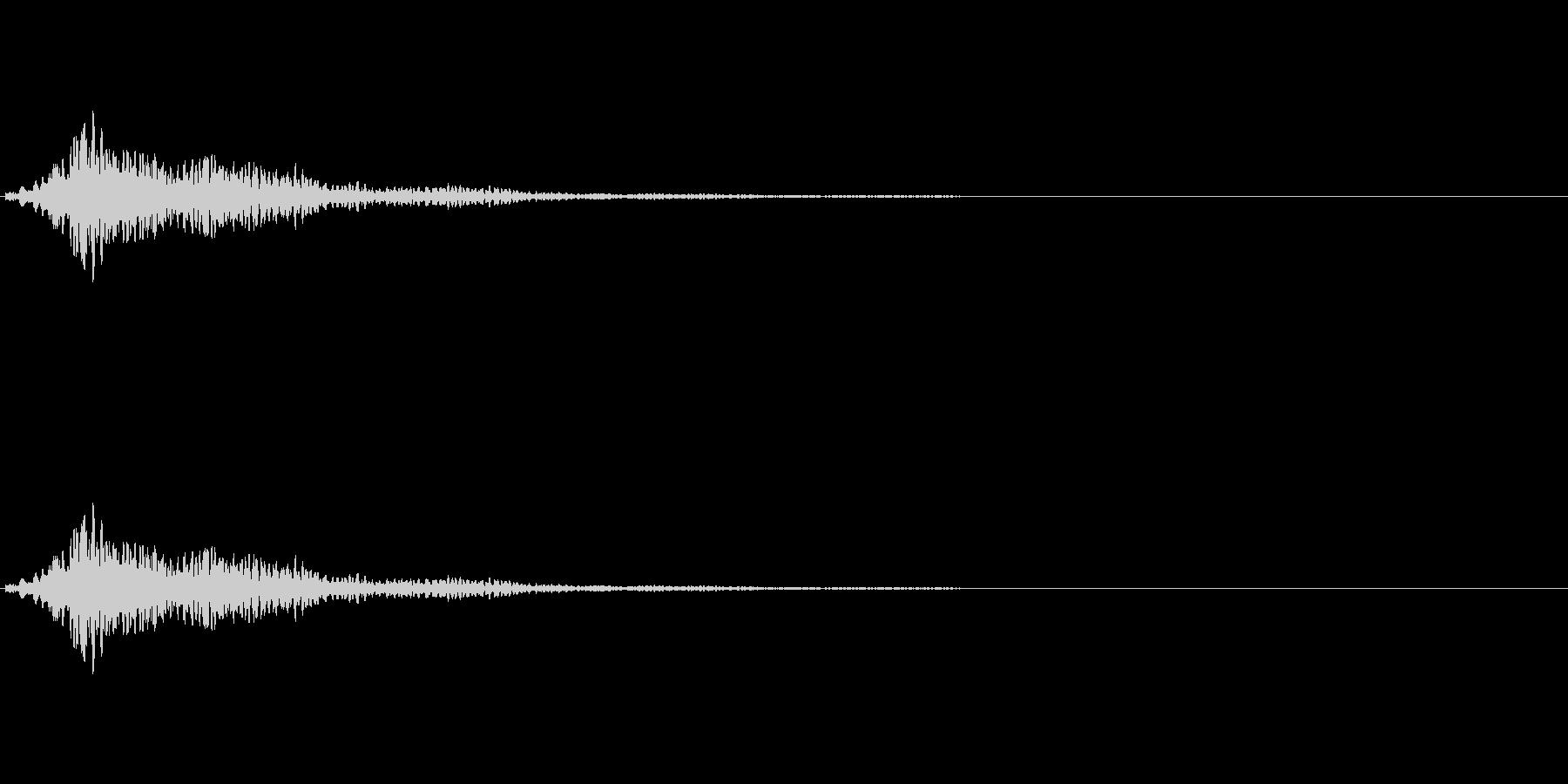 キラキラリーンShortの未再生の波形