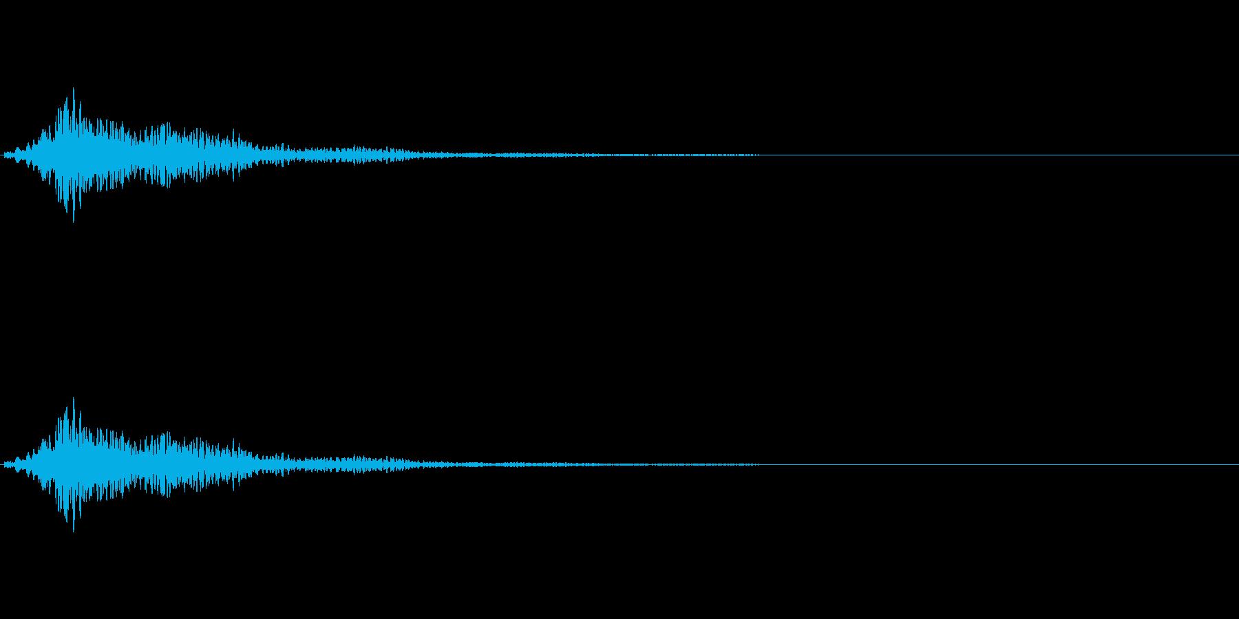 キラキラリーンShortの再生済みの波形