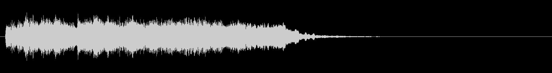 番組ジングル■近未来風、生バイオリン旋律の未再生の波形