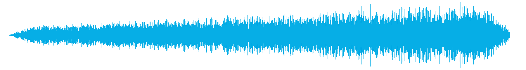 シュイーン。吸い込みの効果音です。の再生済みの波形