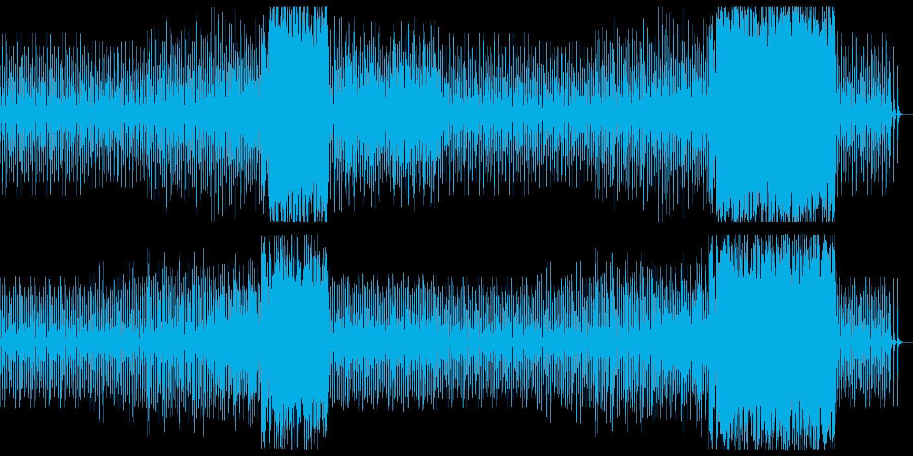 【リズム・ドラム抜き】ほのぼの軽快ファ…の再生済みの波形