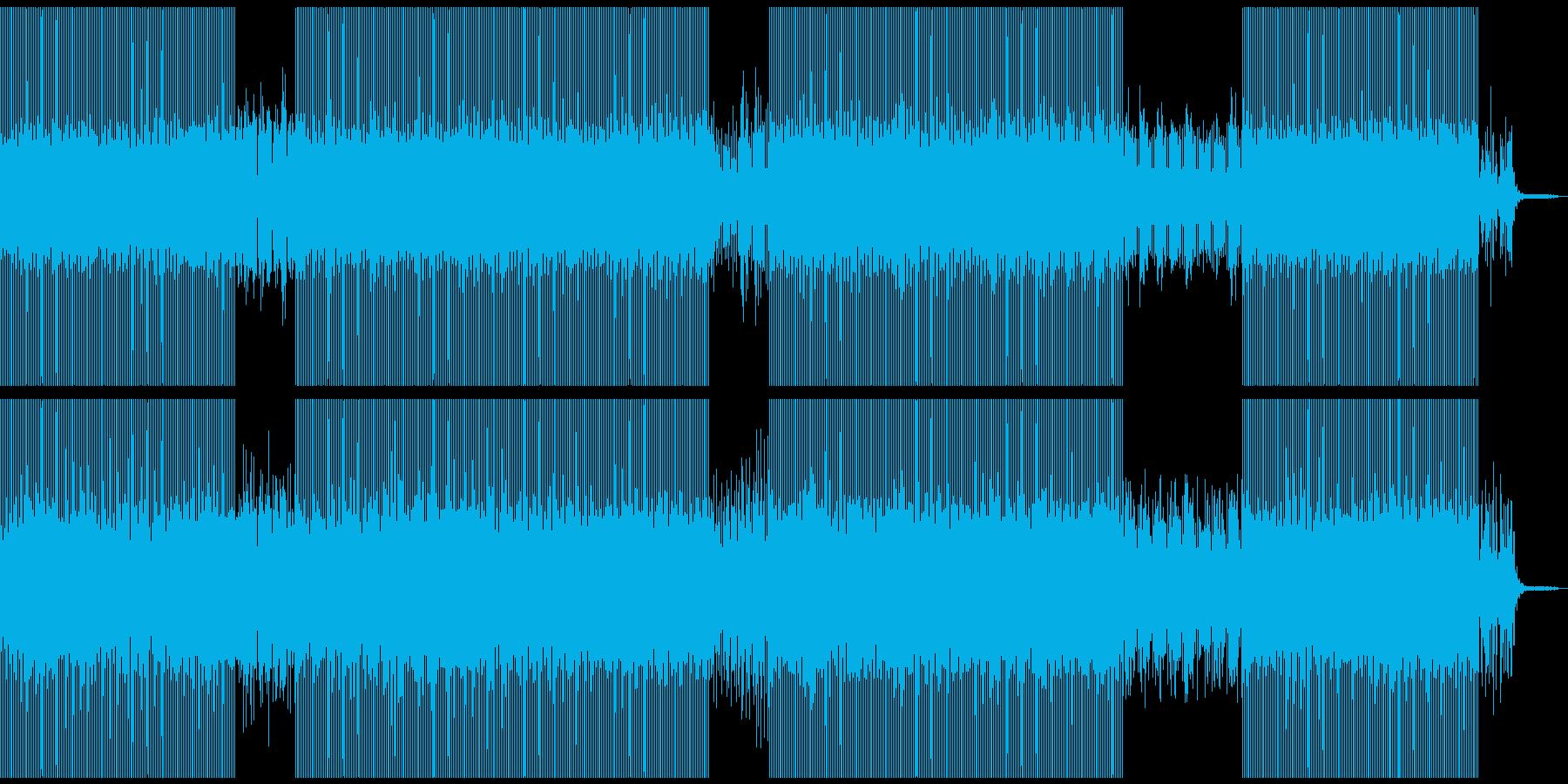 疾走感のあるうねるシンセをDeepにの再生済みの波形