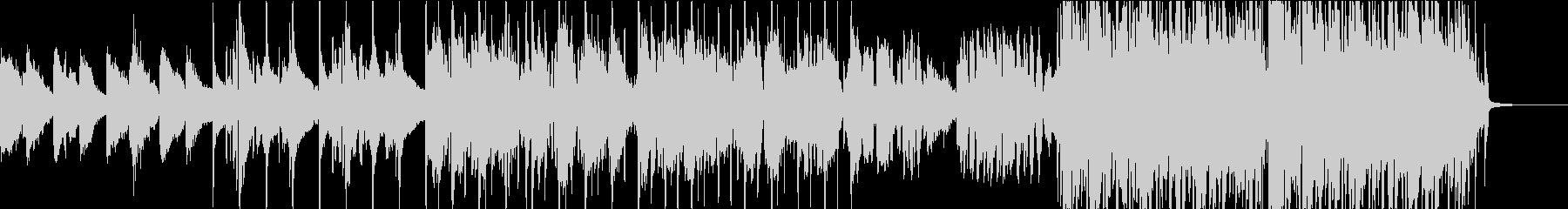 ジャスティン・ビーバー系のPop/R&Bの未再生の波形