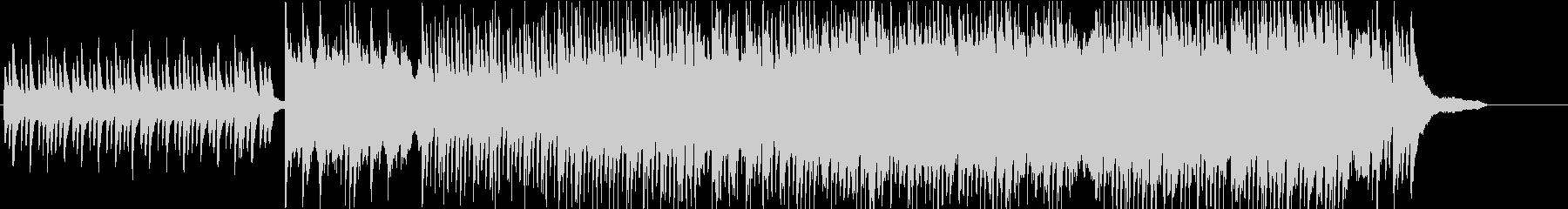 ピアノと琴、三味線によるゆったり和曲の未再生の波形