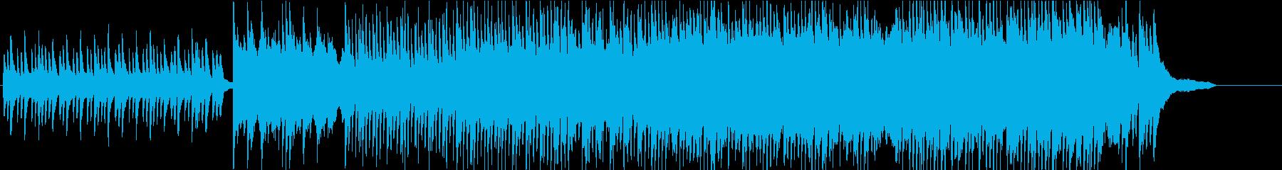 ピアノと琴、三味線によるゆったり和曲の再生済みの波形