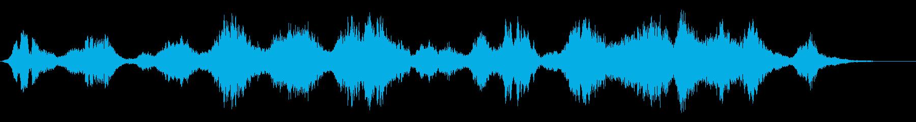 異世界繋がるホラーアンビエントサスペンスの再生済みの波形