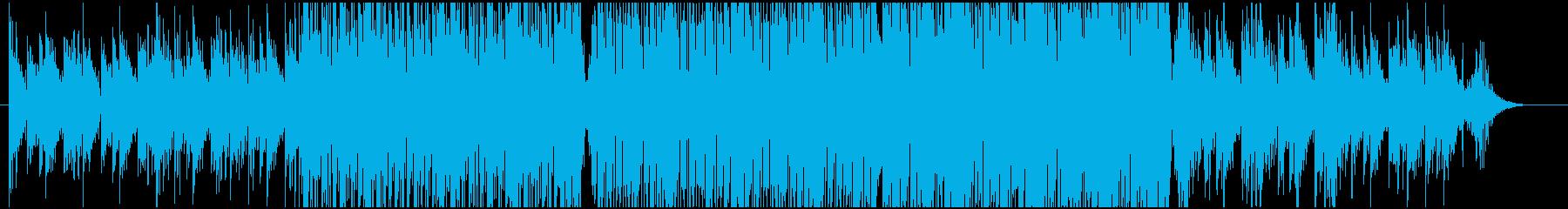温かみのある2ステップの再生済みの波形