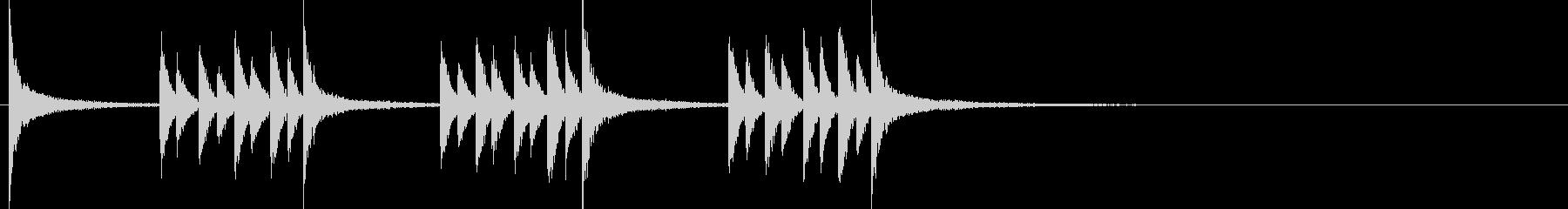 ドラム/ティンバレス フィルイン 20の未再生の波形