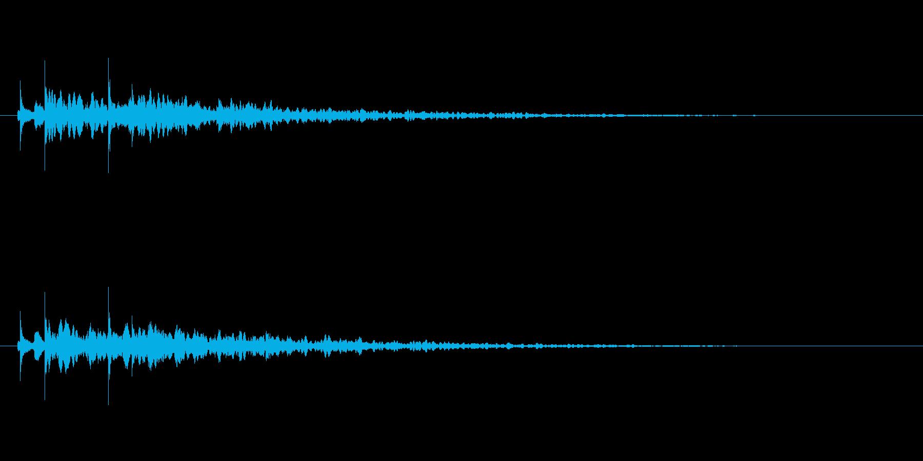 【アクセント37-1】の再生済みの波形