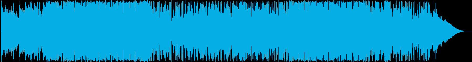 ちょっと切ない雰囲気のポップロックの再生済みの波形