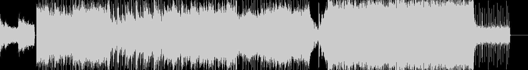 壮大でパワフルなオーケストラロックの未再生の波形