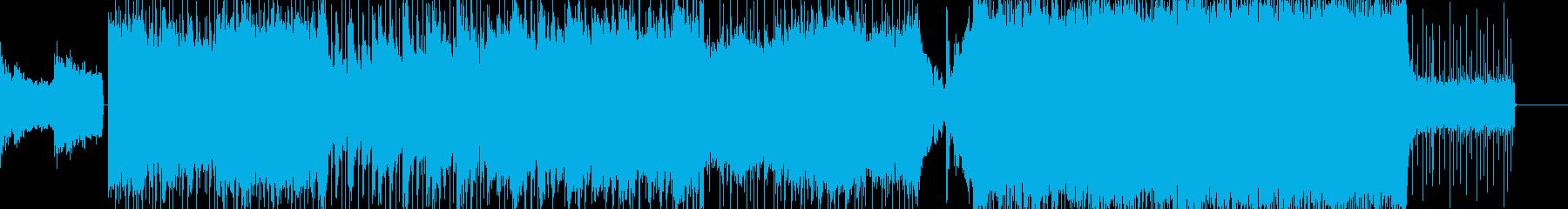 壮大でパワフルなオーケストラロックの再生済みの波形