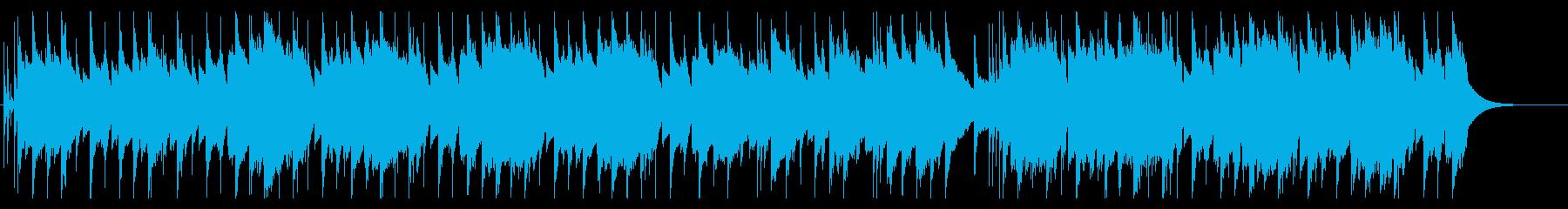 ボイス有/穏やか/ミニマムなビートの再生済みの波形