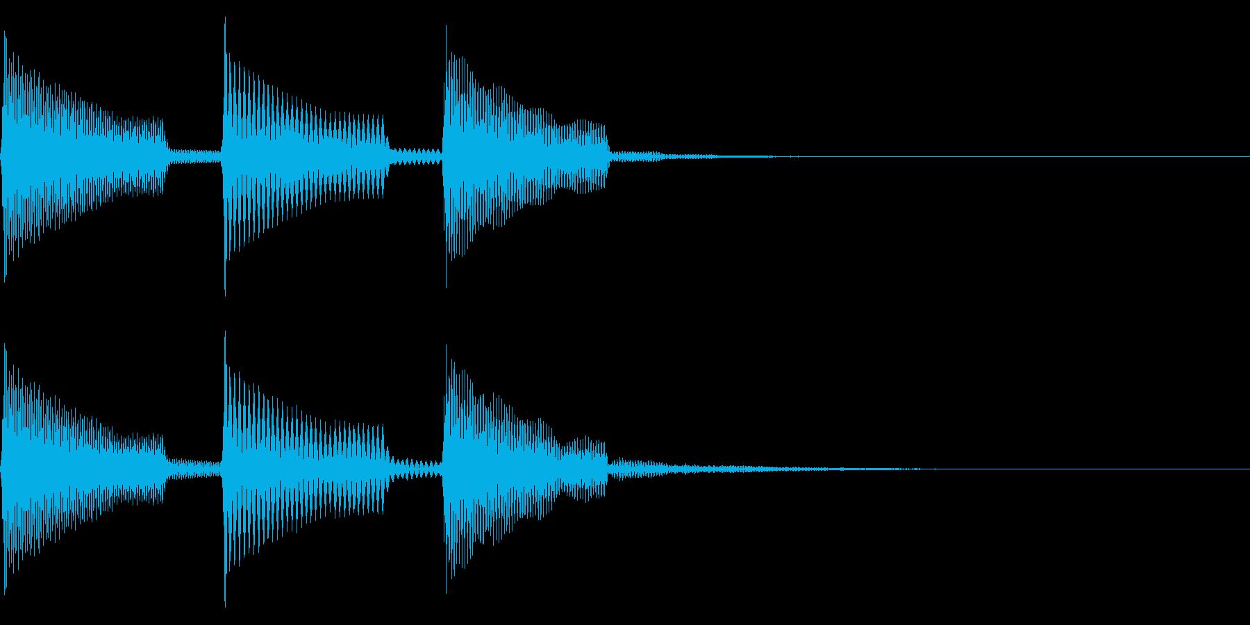 ピーポーパ(回復/場面転換/ファミコンの再生済みの波形