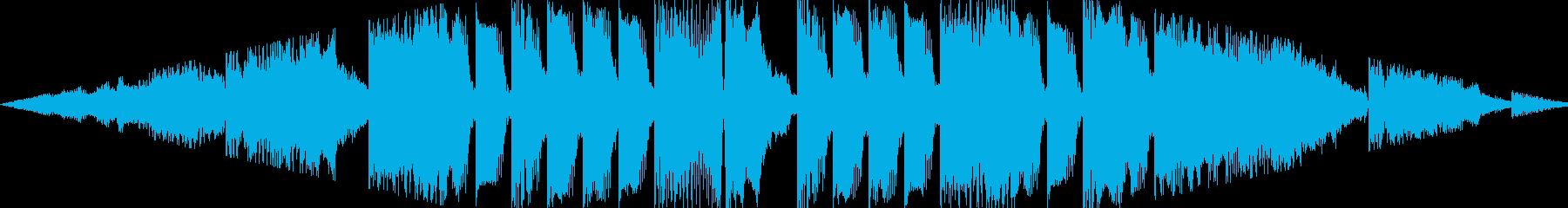 最新トレンドを意識したダークなEDMですの再生済みの波形