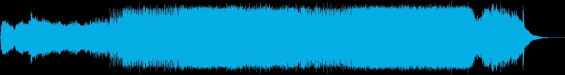 アイリッシュで疾走感のジングルベルの再生済みの波形