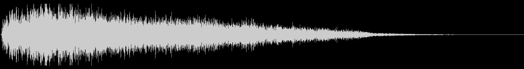 (インパクト)ドラ・ジャーン_02の未再生の波形