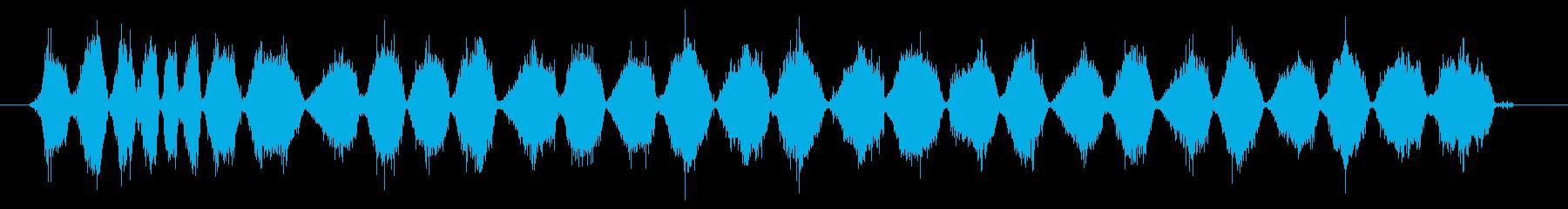 サンドペーパー:中程度のグリット:...の再生済みの波形