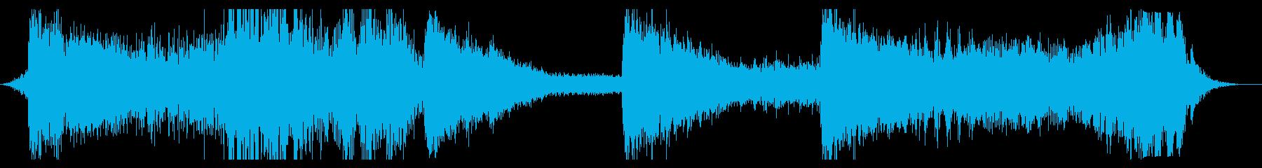 スペースドローン:メタリックランドの再生済みの波形