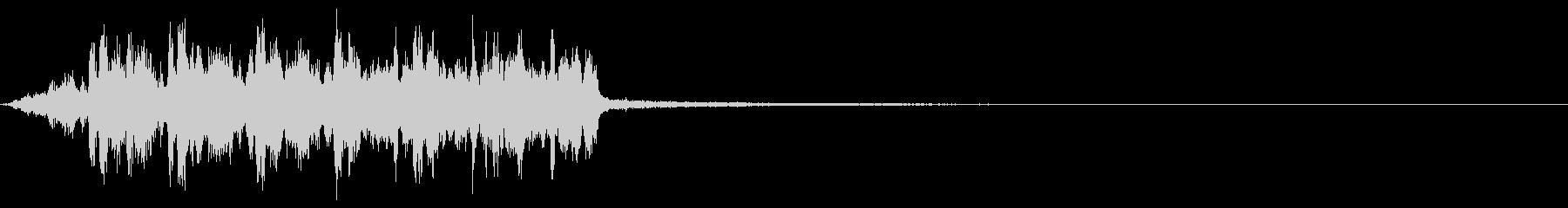【ホラーゲーム】ビボビボビボ・・・の未再生の波形
