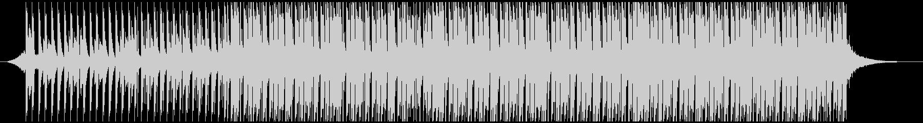 ポジティブポップ(中)の未再生の波形