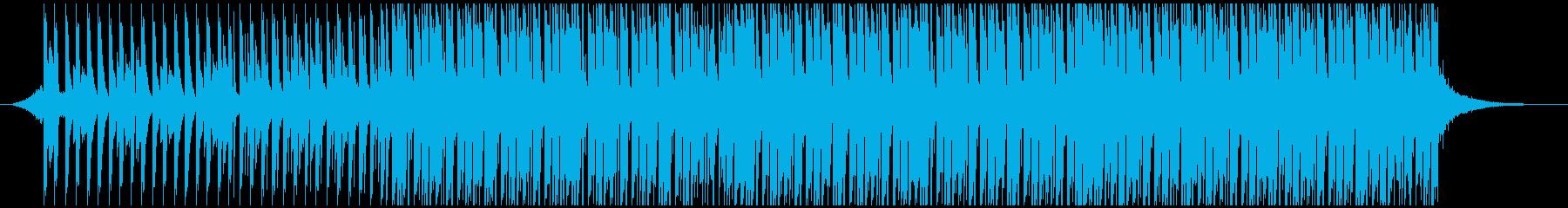 ポジティブポップ(中)の再生済みの波形