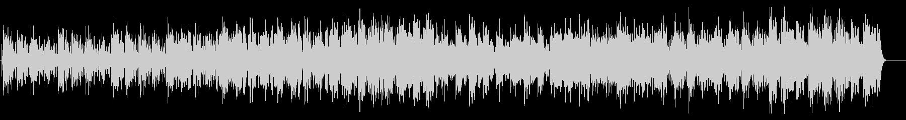 不思議・浮遊感のあるマリンバとオーボエ曲の未再生の波形