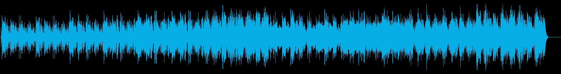 不思議・浮遊感のあるマリンバとオーボエ曲の再生済みの波形