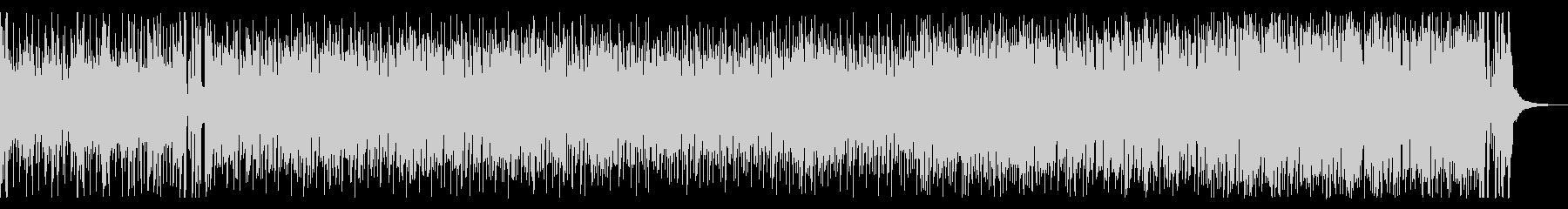 トランペットが明るく陽気なジャズサンバの未再生の波形