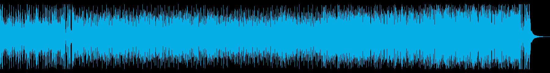 トランペットが明るく陽気なジャズサンバの再生済みの波形