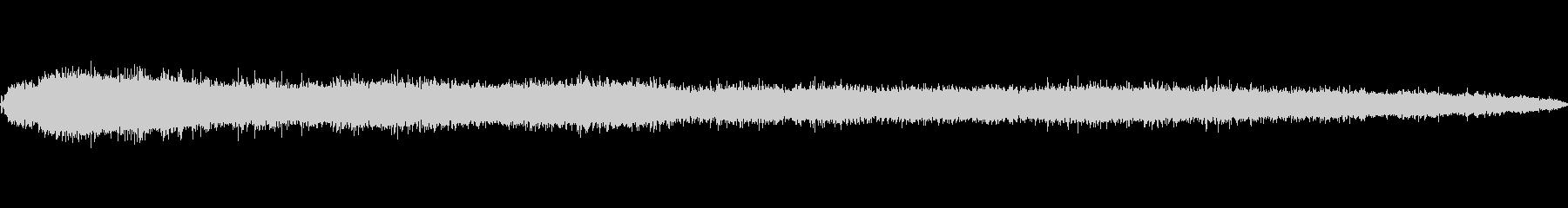 シズルフライパンショートの未再生の波形
