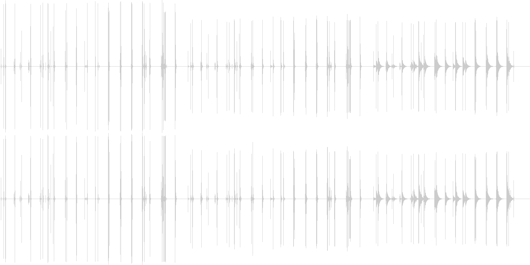 ハンドル、ミシガン州、8つのバージ...の未再生の波形