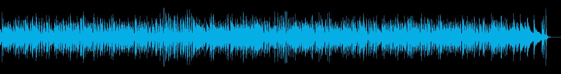 クリスマスの定番曲のジャズアレンジですの再生済みの波形