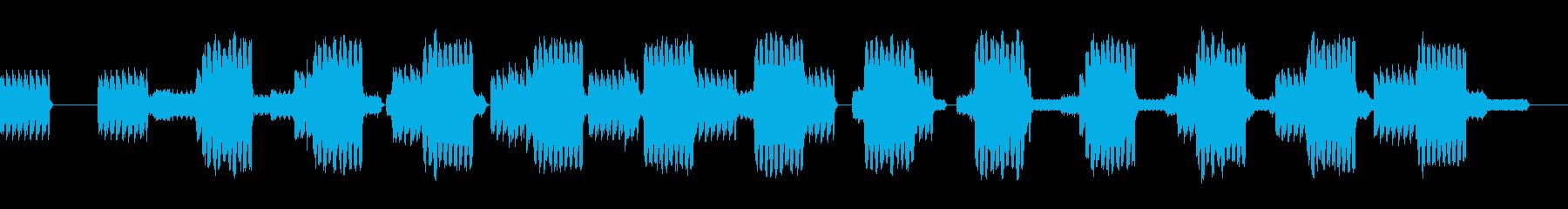 電話殺到(同時に数台の電話が鳴ります)の再生済みの波形