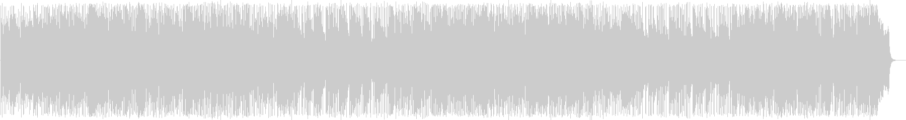 Bright fusion-style instrumental song's unreproduced waveform