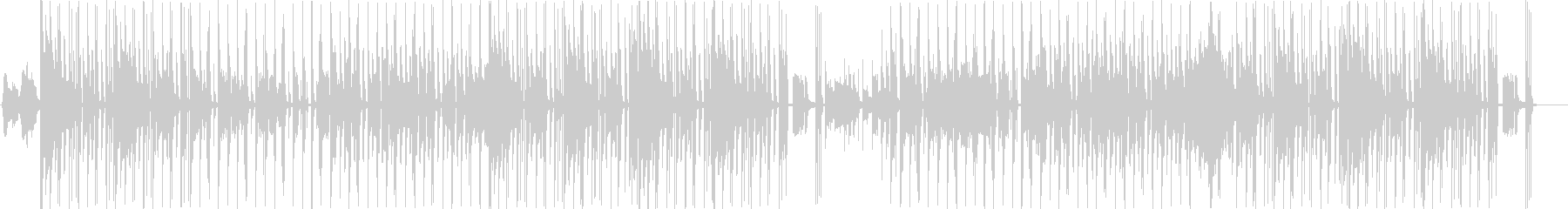 PV】カートゥーンっぽいコミカルなジャズの未再生の波形