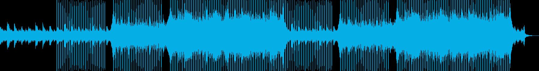 企業VP向け、爽やかポップ4つ打ち10aの再生済みの波形
