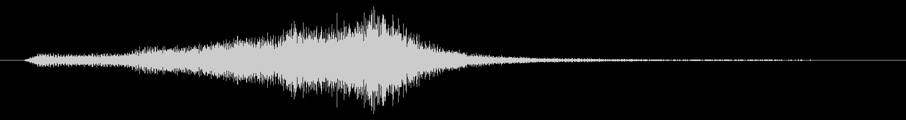 金管楽器と和太鼓のジングルの未再生の波形