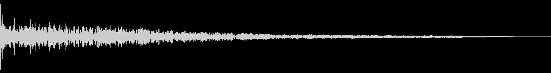 ホラー系アタック音7の未再生の波形