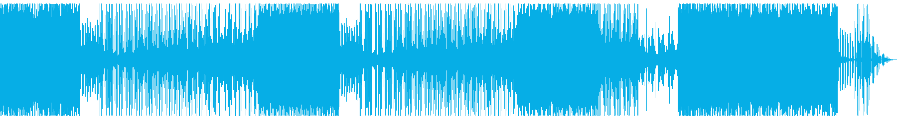 哀愁感漂うヒップホップトラックの再生済みの波形