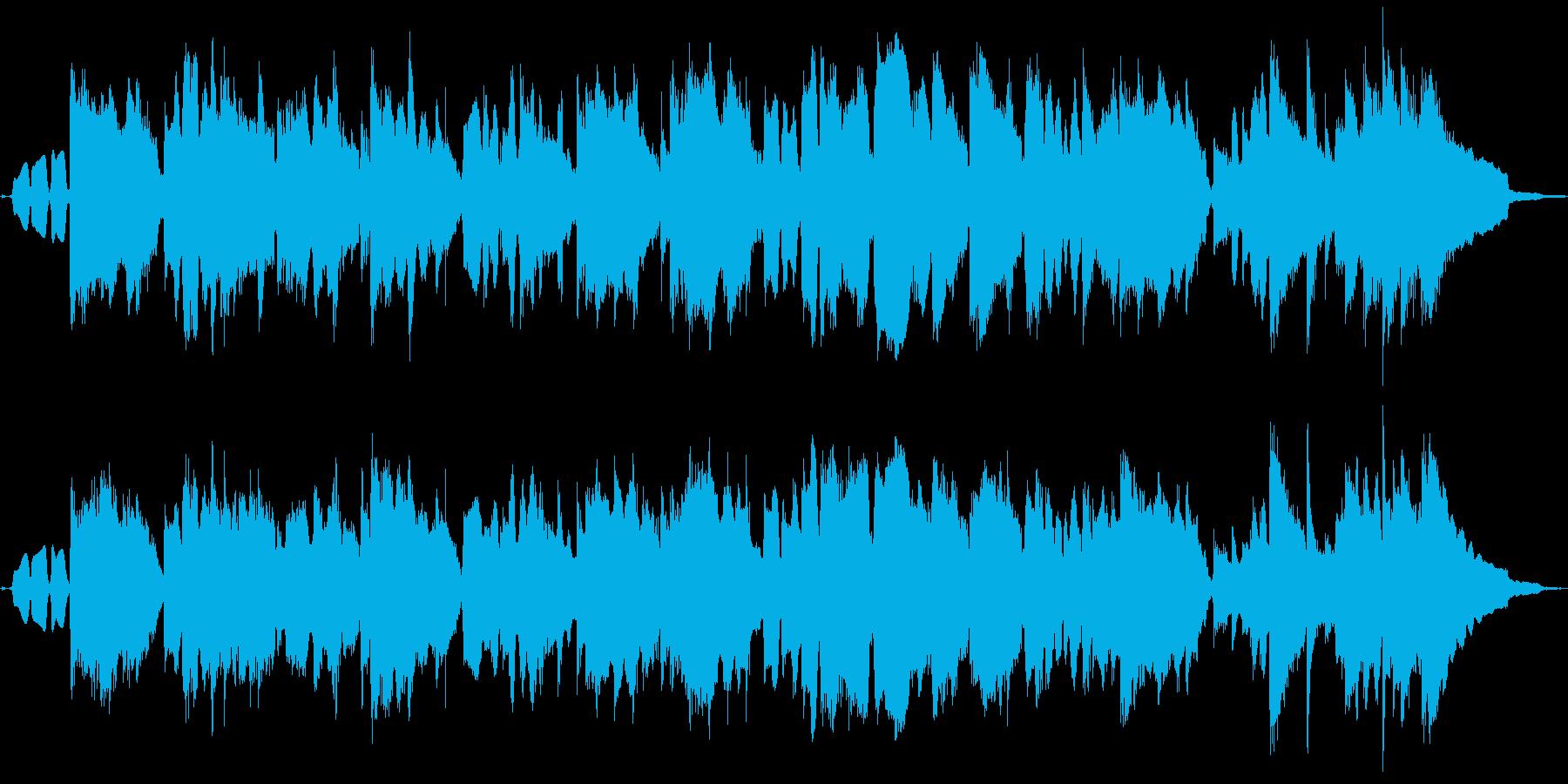 ハーモニカ生演奏ほのぼのカントリーロックの再生済みの波形
