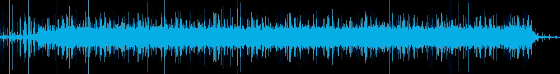 コミカルでかわいいアルペジオの再生済みの波形