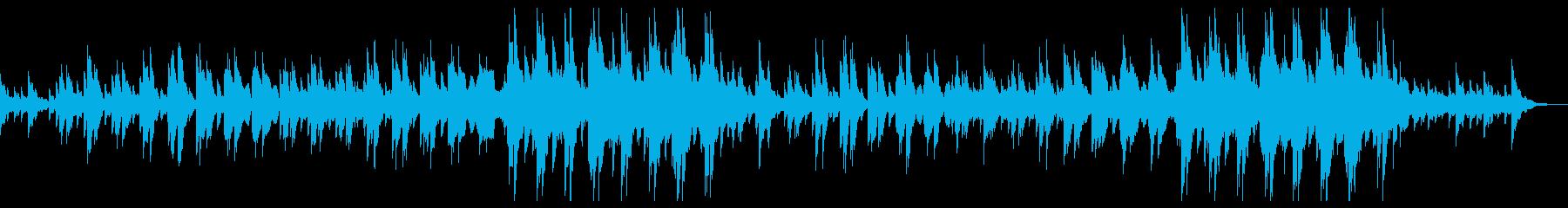企業VP・CM 優しく感動的なピアノ曲の再生済みの波形