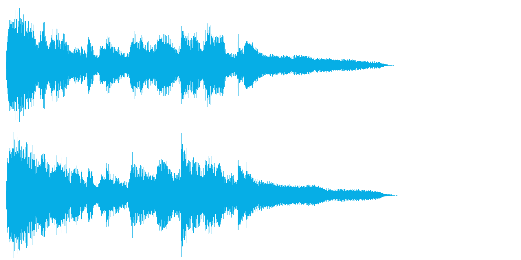 ゆったりバラード・サックスのジングルの再生済みの波形