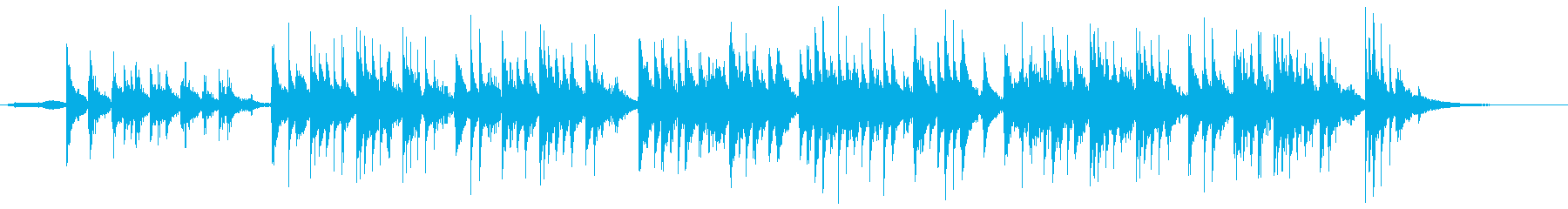 アコギとキーボードの眠れる1曲の再生済みの波形