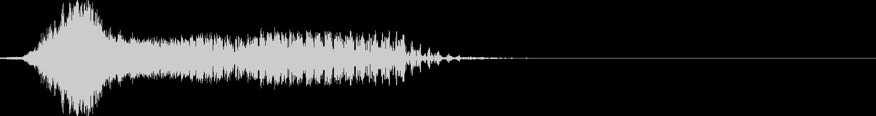 フライバイバージョン1の未再生の波形