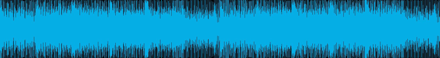 【ループ】三味線、ベース、和風、Lの再生済みの波形
