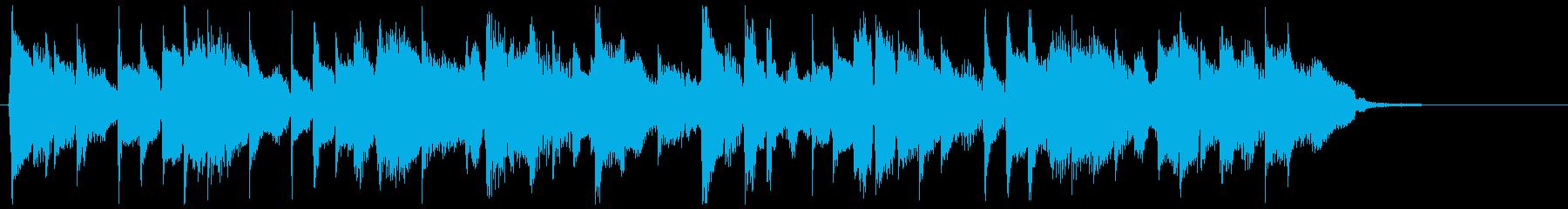 15秒 状況の変化・前向きなイメージの再生済みの波形