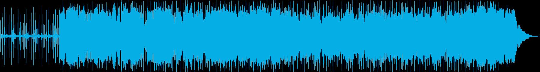 電子楽器。大気をテーマにした穏やか...の再生済みの波形